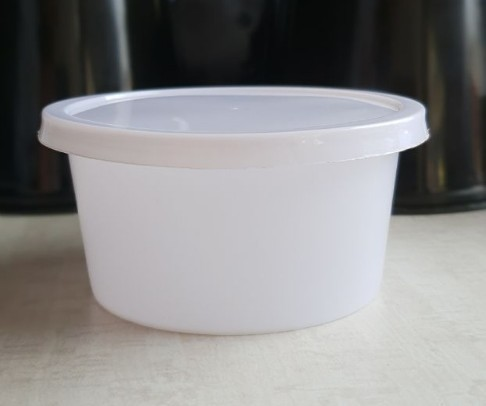 400ml Disposable Plastic Food Container