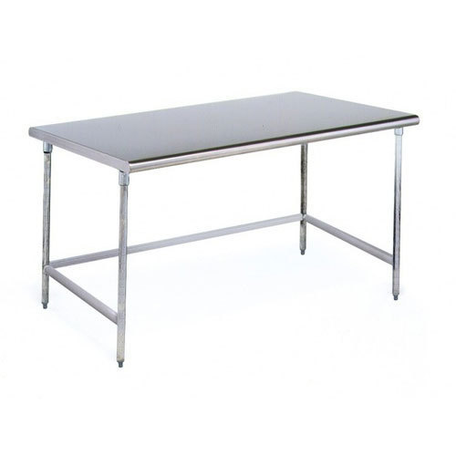 Stainless Steel Work Table Without Undershelf