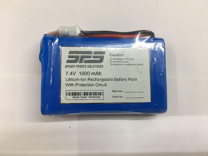 7.4 Volt Lithium-Ion Rechargeable Battery