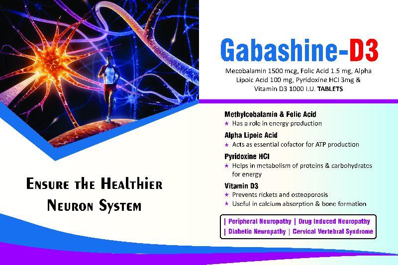 Gabashine-D3 Tablets