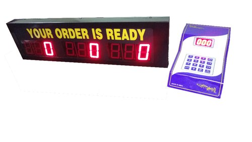 Multi Counter Token Display System