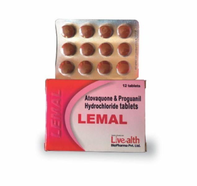 Atovaquone & Proguanil Hydrochloride Tablets