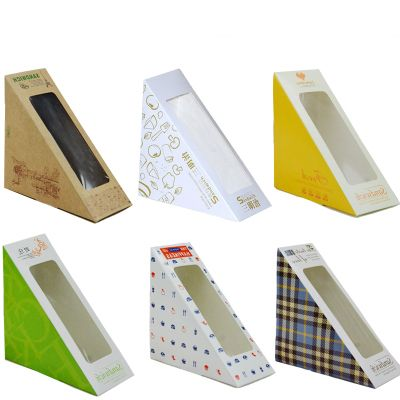 Paper Sandwich Packaging Box