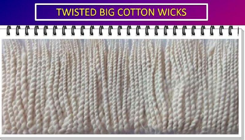 Twisted Big Cotton Wicks