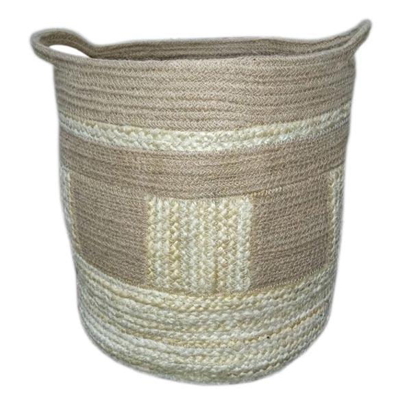 Jute Rope and Hemp Basket