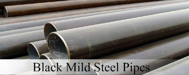 Black Mild Steel Pipes