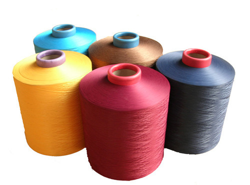 100% Polyester Filament Yarn (PFY) - RW , Dope Dyed & Dyed