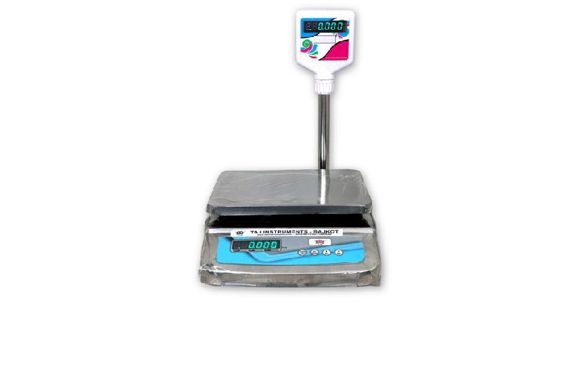 Weighing Scale with Pole Display