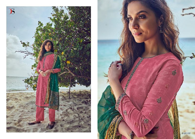 Deepsy Panghat Vol 8 Jam Cotton Pakistani Style Embroidered Suits