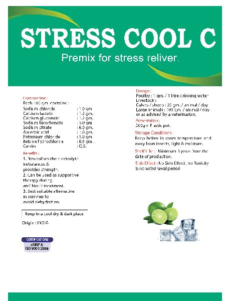 Stress Cool C Poultry Feed Supplement