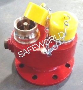 2 Way Fire Brigade Inlet Valve