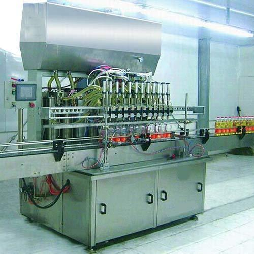 Pneumatic Piston Filling Machine