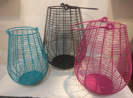 Iron Wicker Basket