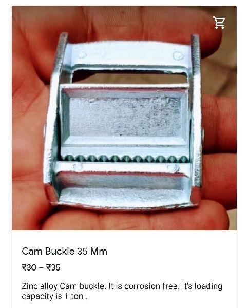 35 Mm Zink Cam Buckle