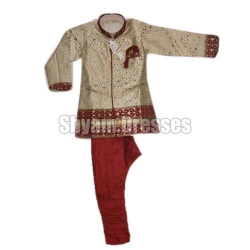 Boys Embroidered Sherwani