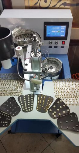 Half Pearl Attaching Machine