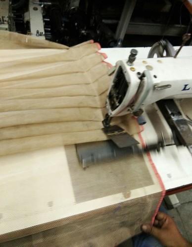 Skirt Pleating Machine