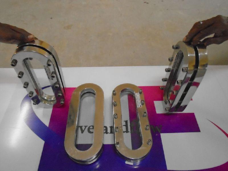 Weld Pad Sight Glass - Oblong Type
