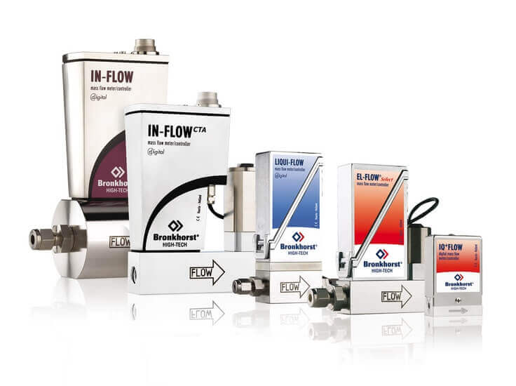 Thermal Mass Flow Meters and Controller