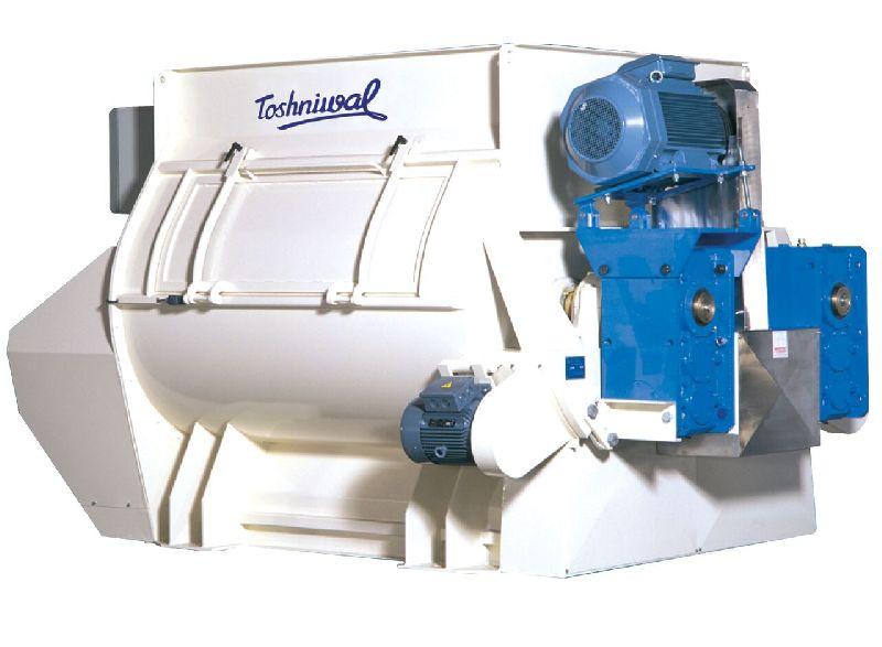 Twin Shaft Paddle Mixer