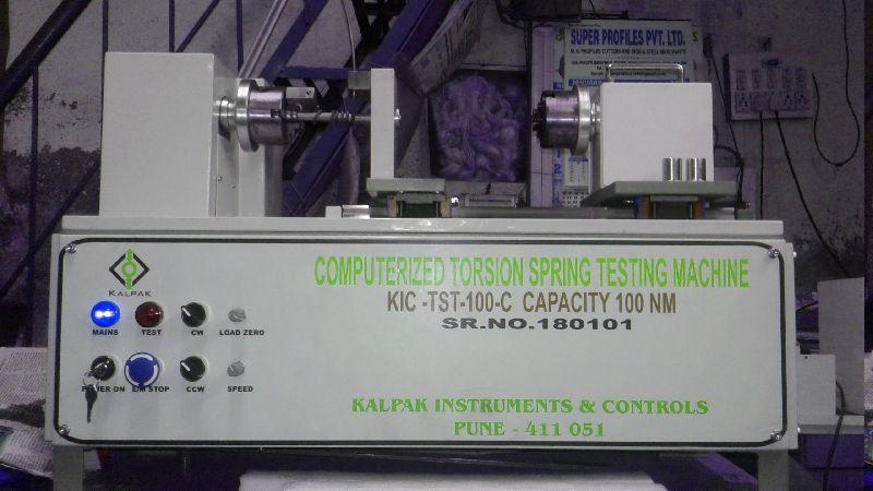 KIC- TST-100-C Computerized Torsion Spring Testing Machine