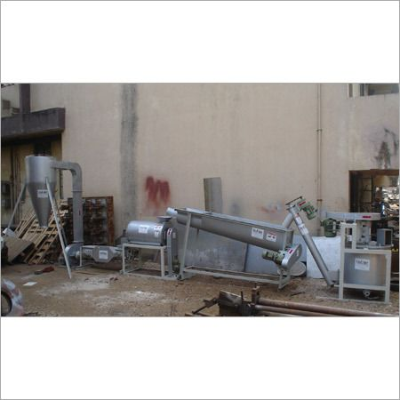 Plastic Waste Washing And Drying Plant