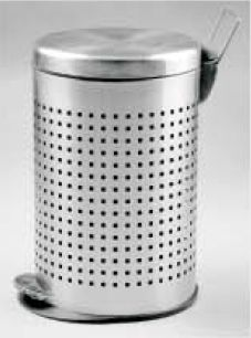 Perforated Dustbin With Paddle