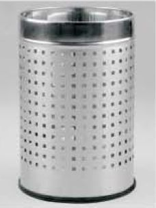 Perforated Dustbin Without Paddle