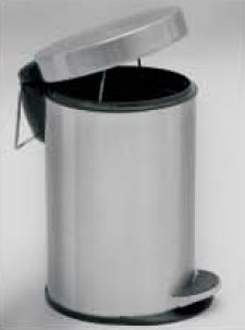 Plain Dustbin With Paddle