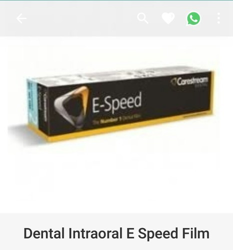 Carestream (Kodak) E-speed Dental X Ray Film