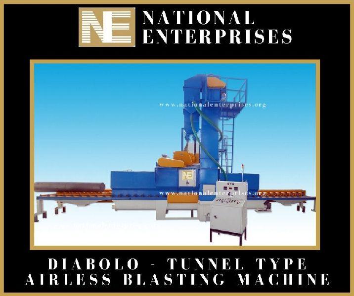 Diabolo Type Shot Blasting Machine