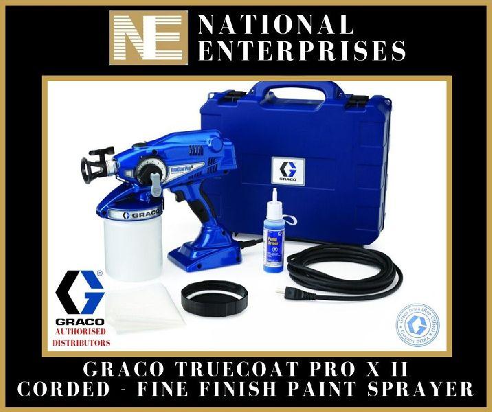 Graco Truecoat Pro X II Corded Fine Finish Paint Sprayer
