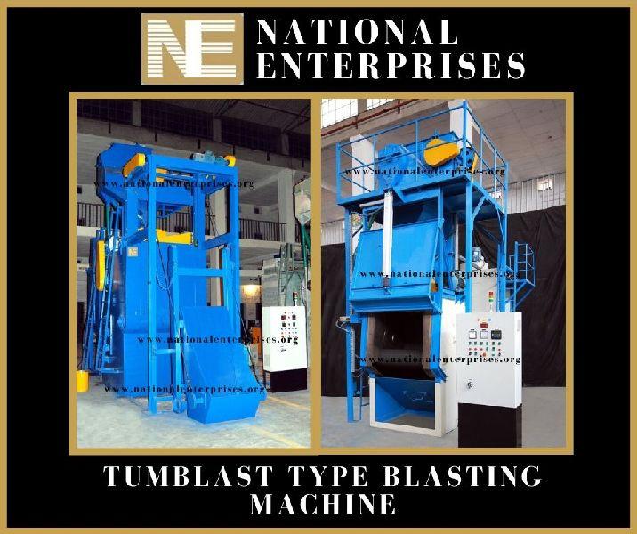 Tumbler Type Shot Blasting Machine