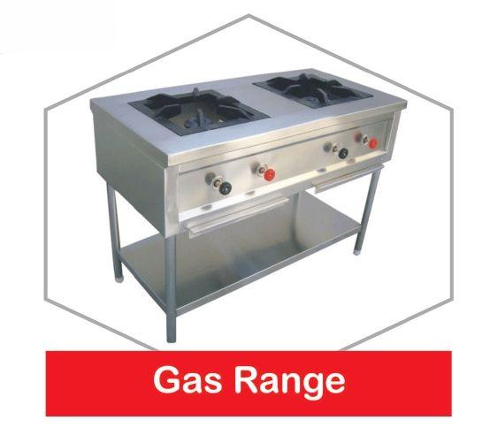 Stainless Steel Gas Range