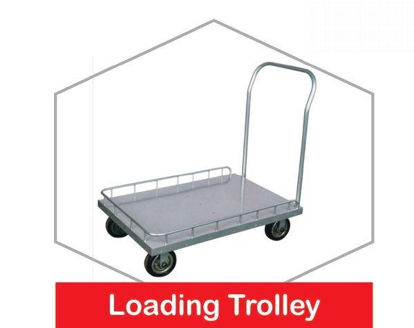 Stainless Steel Loading Trolley
