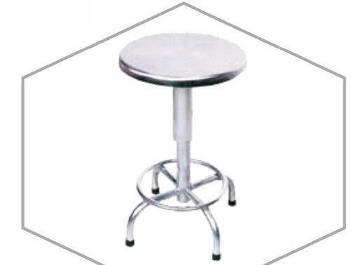 Stainless Steel Revolving Stool