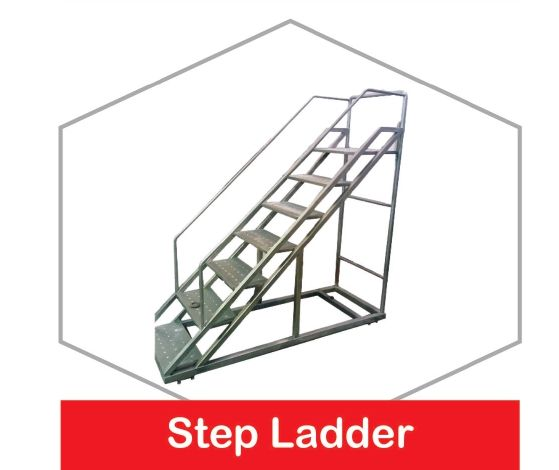 Stainless Steel Step Ladder
