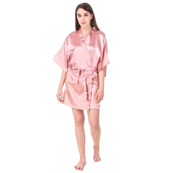 Satin Kimono Robes