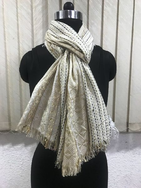 Cotton Jacquard Shawls