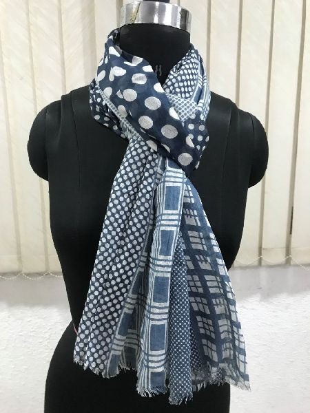 Mens Printed Scarves