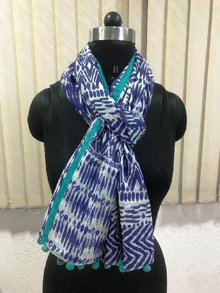 Ladies Pom Pom Scarves