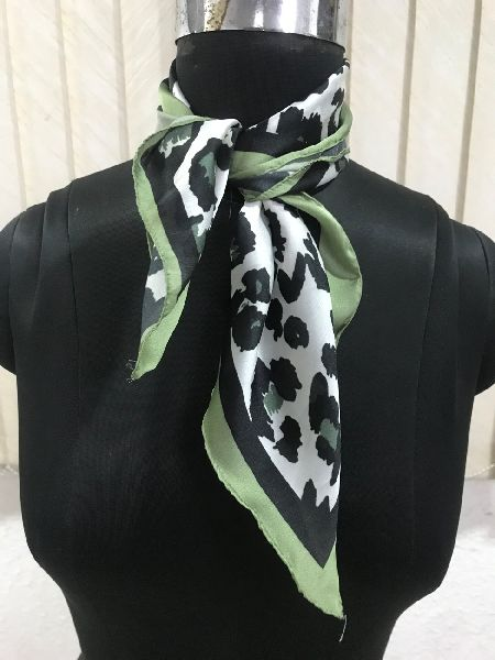 Silk Printed Bandanas