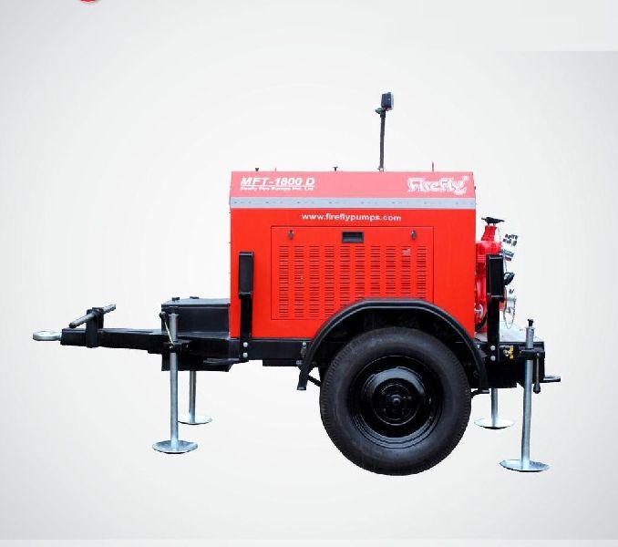 MFT-1800-D Trailer Mounted Fire Pump