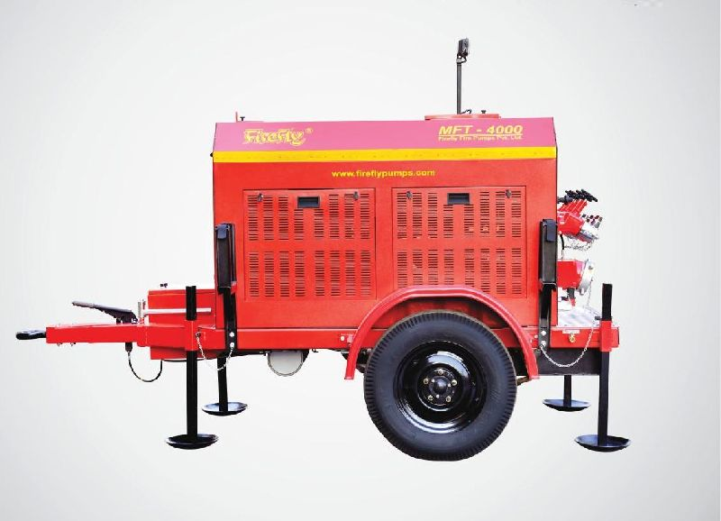 MFT-4000-D Trailer Mounted Fire Pump