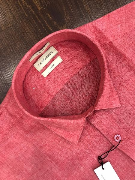 Pure Full Sleeves Linen Shirts