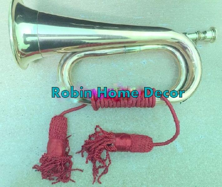 Brass Military Signal Trumpet
