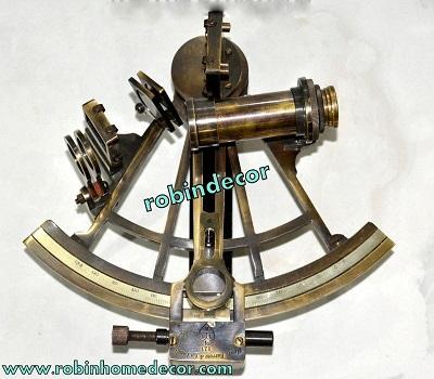 Brass Nautical Sextant