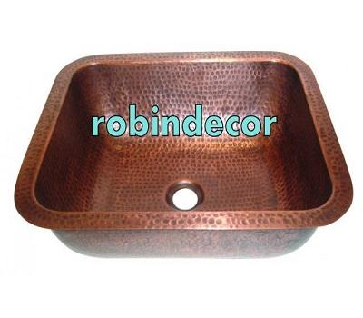 Copper & Brass Wash Basin