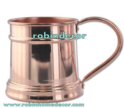 Plain Copper Moscow Mule Mug