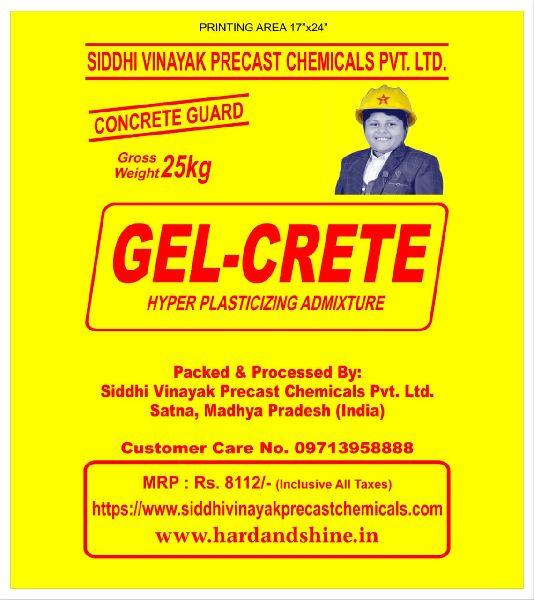 Gel-Crete Concrete Guard Hyper Plasticizing Admixture
